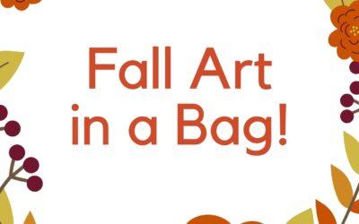 Fall Art in a Bag
